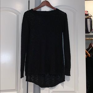 BLACK BRANDY MELVILLE SWEATER ONE SEZE FITS ALL